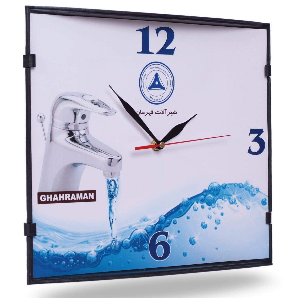 ساعت دیواری مدل تی وی 3